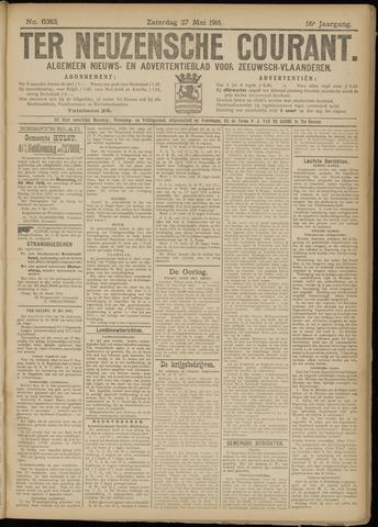 Ter Neuzensche Courant. Algemeen Nieuws- en Advertentieblad voor Zeeuwsch-Vlaanderen / Neuzensche Courant ... (idem) / (Algemeen) nieuws en advertentieblad voor Zeeuwsch-Vlaanderen 1916-05-27