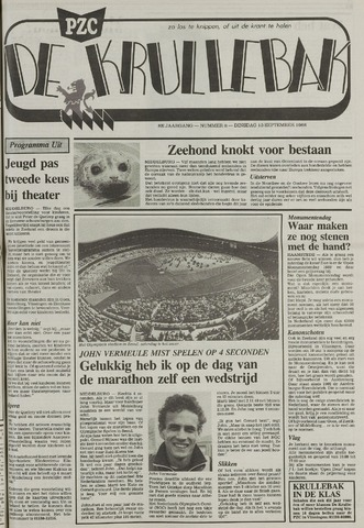 Provinciale Zeeuwse Courant katern Krullenbak (1981-1999) 1988-09-13