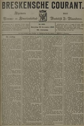 Breskensche Courant 1912-11-30