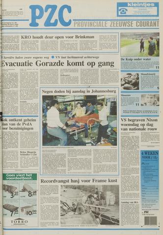 Provinciale Zeeuwse Courant 1994-04-25