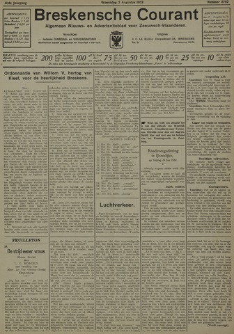Breskensche Courant 1932-08-03