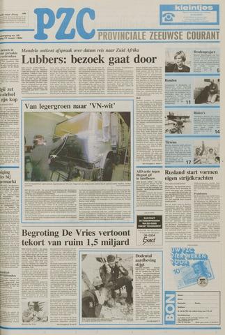 Provinciale Zeeuwse Courant 1992-03-17