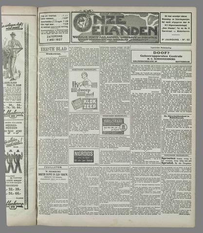 Onze Eilanden 1927-05-07