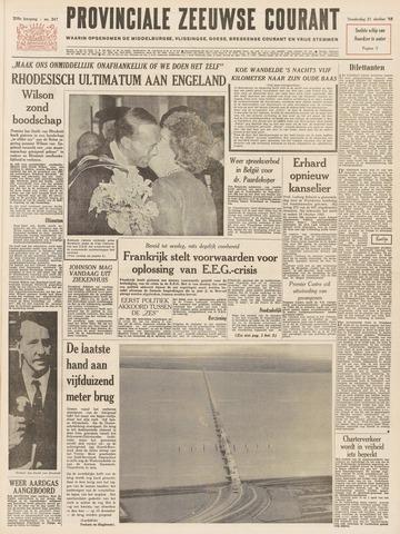 Provinciale Zeeuwse Courant 1965-10-21