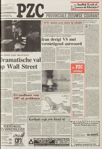 Provinciale Zeeuwse Courant 1987-10-20