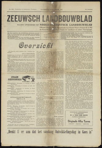 Zeeuwsch landbouwblad ... ZLM land- en tuinbouwblad 1953-10-10