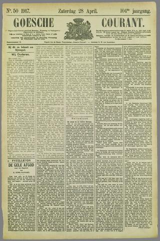 Goessche Courant 1917-04-28