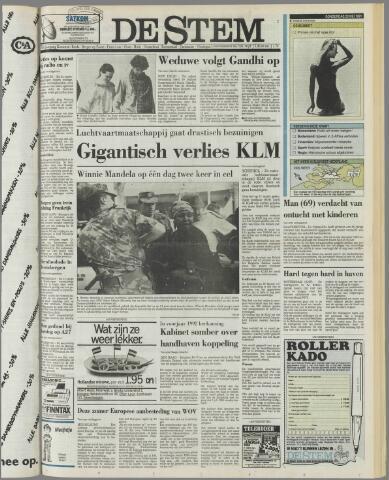 de Stem 1991-05-23