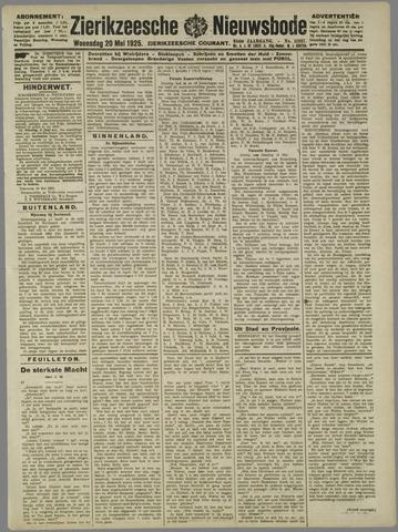 Zierikzeesche Nieuwsbode 1925-05-20