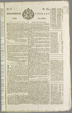 Zierikzeesche Courant 1814-03-04