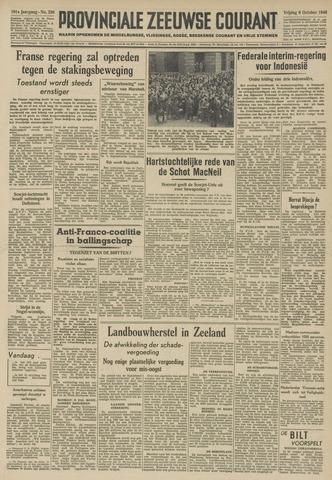 Provinciale Zeeuwse Courant 1948-10-08