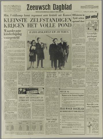 Zeeuwsch Dagblad 1961-09-29