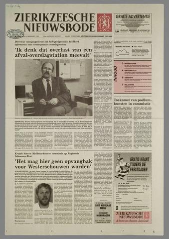 Zierikzeesche Nieuwsbode 1993-12-02