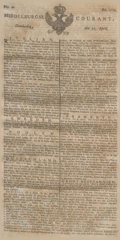 Middelburgsche Courant 1776-04-25