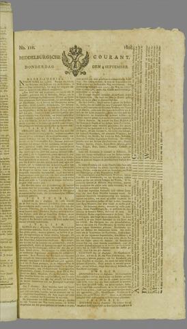 Middelburgsche Courant 1806-09-04