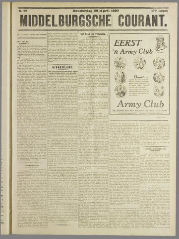 Middelburgsche Courant 1927-04-28