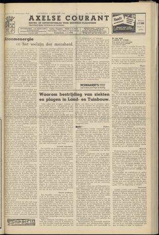 Axelsche Courant 1955-02-05