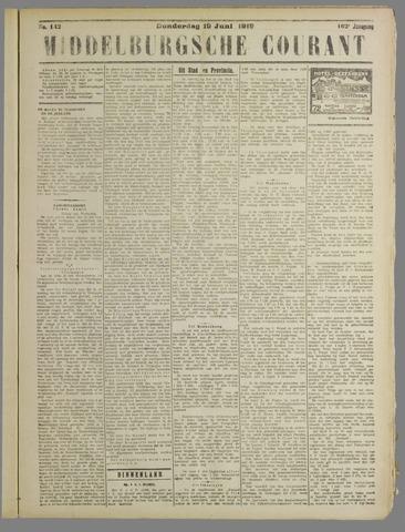 Middelburgsche Courant 1919-06-19