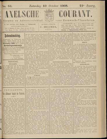 Axelsche Courant 1908-10-10