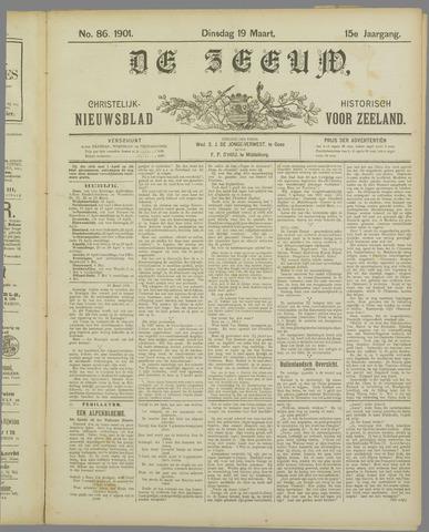 De Zeeuw. Christelijk-historisch nieuwsblad voor Zeeland 1901-03-19