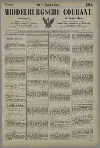 Middelburgsche Courant 1884-11-12