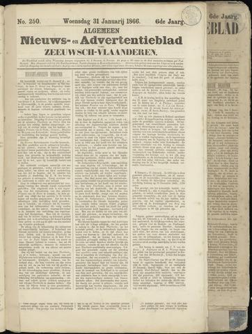 Ter Neuzensche Courant. Algemeen Nieuws- en Advertentieblad voor Zeeuwsch-Vlaanderen / Neuzensche Courant ... (idem) / (Algemeen) nieuws en advertentieblad voor Zeeuwsch-Vlaanderen 1866-01-31