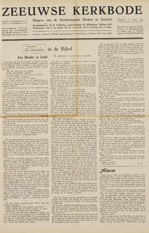 Zeeuwsche kerkbode, weekblad gewijd aan de belangen der gereformeerde kerken/ Zeeuwsch kerkblad 1948-12-17