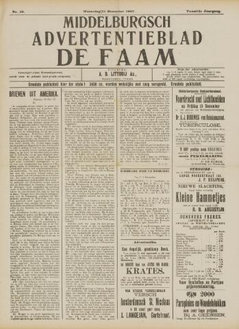 de Faam en de Faam/de Vlissinger 1907-12-11
