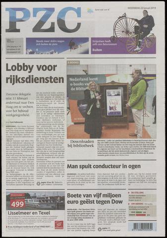 Provinciale Zeeuwse Courant 2014-01-22