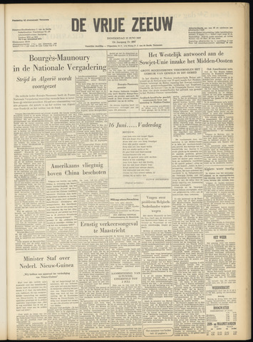 de Vrije Zeeuw 1957-06-13