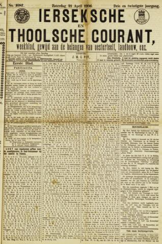 Ierseksche en Thoolsche Courant 1906-04-21