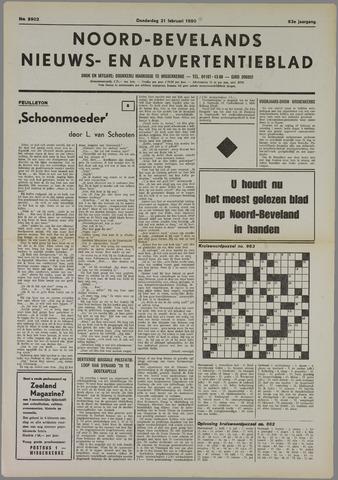 Noord-Bevelands Nieuws- en advertentieblad 1980-02-21