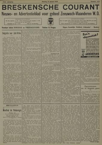 Breskensche Courant 1936-01-21
