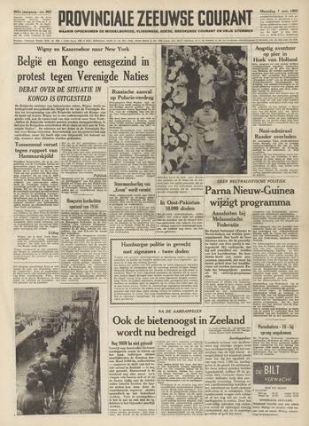 Provinciale Zeeuwse Courant 1960-11-07