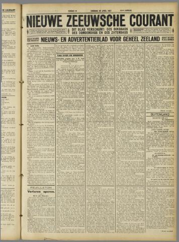 Nieuwe Zeeuwsche Courant 1927-04-26