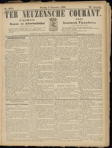 Ter Neuzensche Courant. Algemeen Nieuws- en Advertentieblad voor Zeeuwsch-Vlaanderen / Neuzensche Courant ... (idem) / (Algemeen) nieuws en advertentieblad voor Zeeuwsch-Vlaanderen 1899-09-05