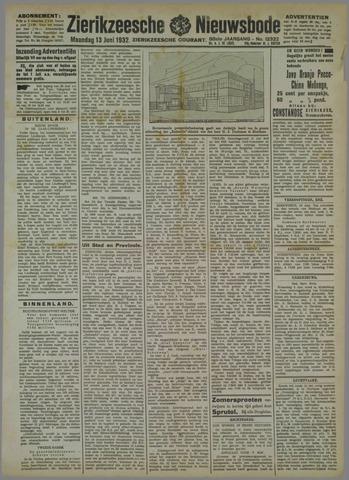 Zierikzeesche Nieuwsbode 1932-06-13