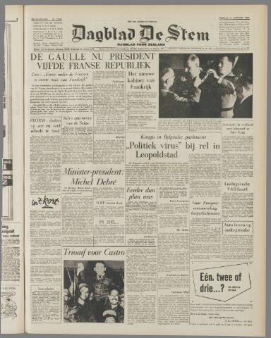 de Stem 1959-01-09