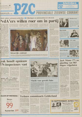 Provinciale Zeeuwse Courant 1991-09-25