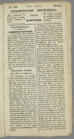 Zierikzeesche Nieuwsbode 1844-10-25
