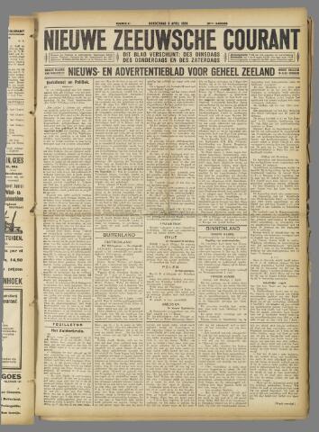 Nieuwe Zeeuwsche Courant 1924-04-03