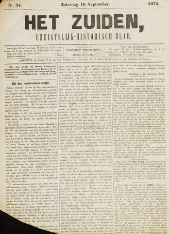 Het Zuiden, Christelijk-historisch blad 1876-09-16