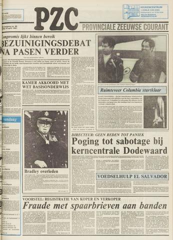 Provinciale Zeeuwse Courant 1981-04-10