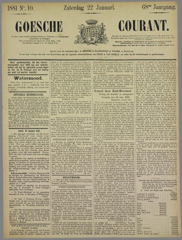 Goessche Courant 1881-01-22