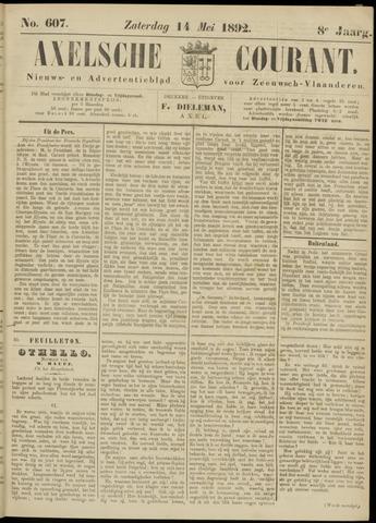 Axelsche Courant 1892-05-14