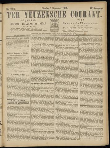 Ter Neuzensche Courant. Algemeen Nieuws- en Advertentieblad voor Zeeuwsch-Vlaanderen / Neuzensche Courant ... (idem) / (Algemeen) nieuws en advertentieblad voor Zeeuwsch-Vlaanderen 1902-09-02