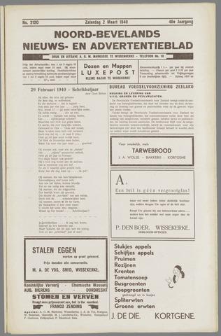 Noord-Bevelands Nieuws- en advertentieblad 1940-03-02
