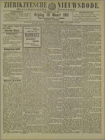 Zierikzeesche Nieuwsbode 1911-03-10