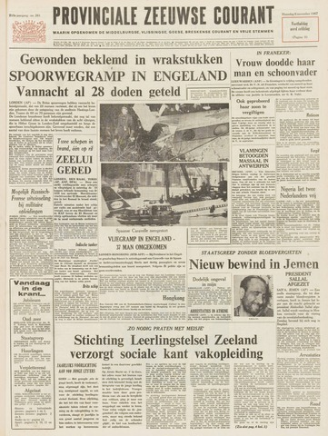Provinciale Zeeuwse Courant 1967-11-06