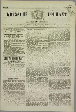 Goessche Courant 1853-12-19